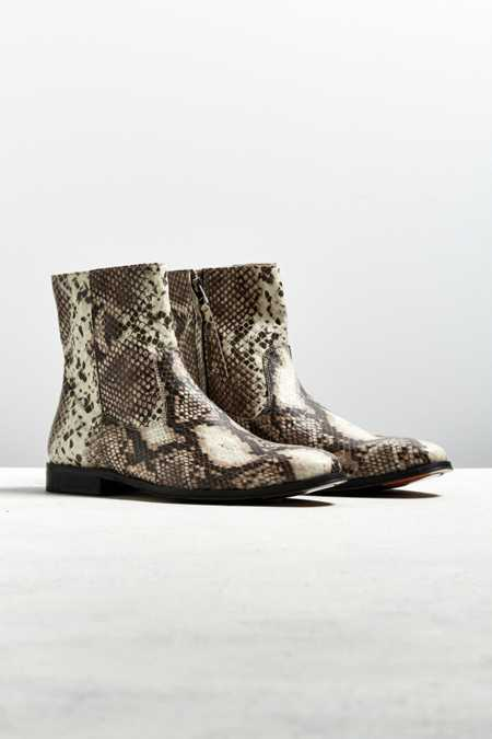 UO Western Snake Chelsea Boot