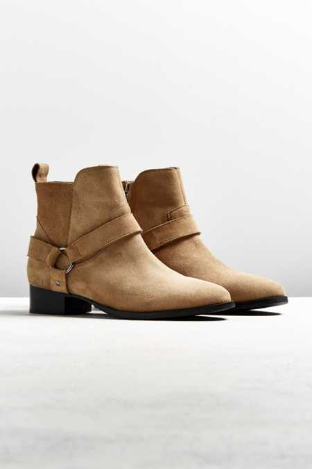 UO Suede Harness Chelsea Boot