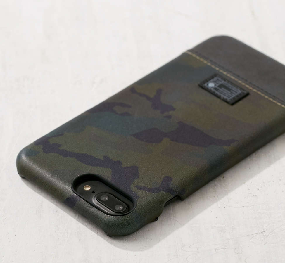 Slide View: 2: HEX Camo Leather Reflective iPhone 6 Plus/7 Plus Case