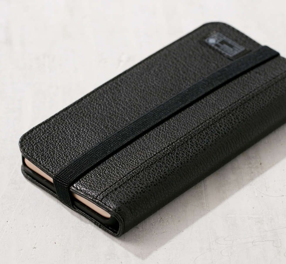 Slide View: 6: HEX Leather Wallet iPhone 6/7 Case