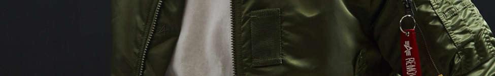 Thumbnail View 3: Alpha Industries B-15 Slim-Fit Bomber Jacket