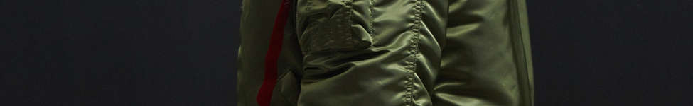Thumbnail View 4: Alpha Industries B-15 Slim-Fit Bomber Jacket