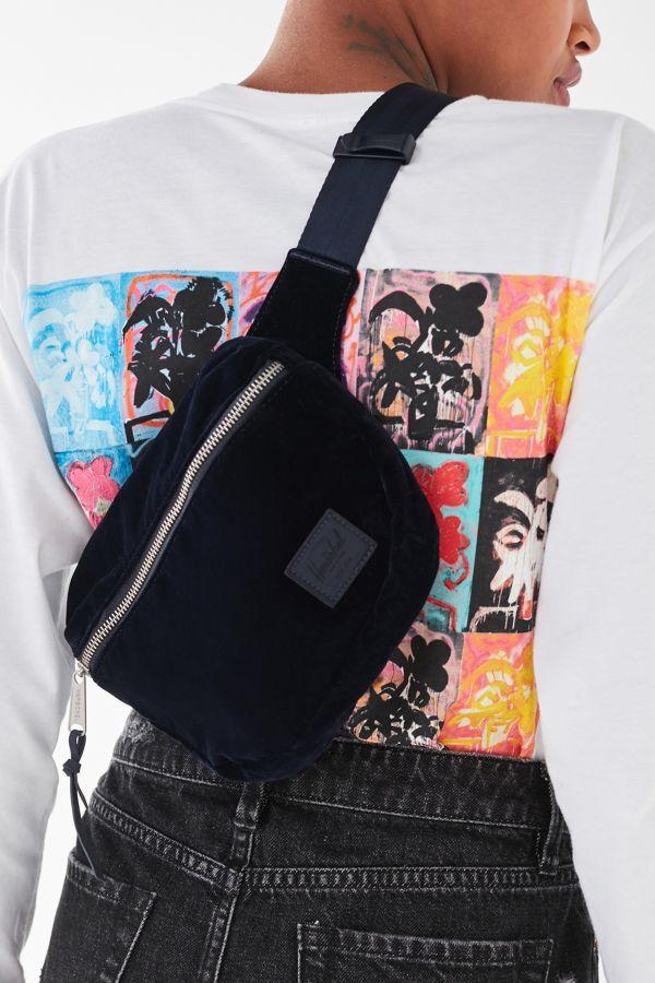 Herschel Supply Co Fifteen Velvet Zip Belt Bag Urban