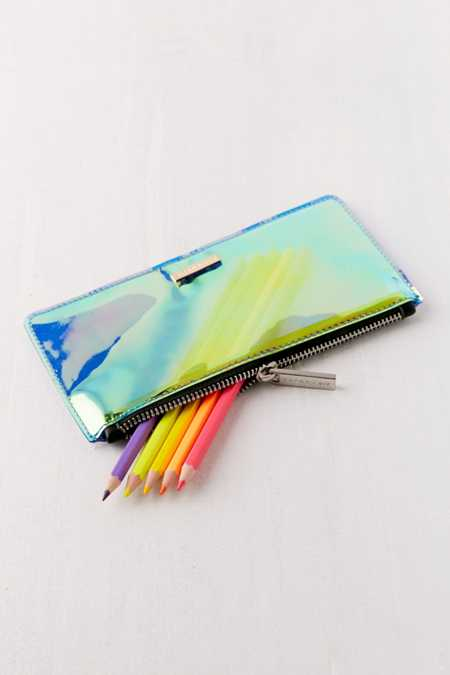 Skinnydip Holographic Pencil Case