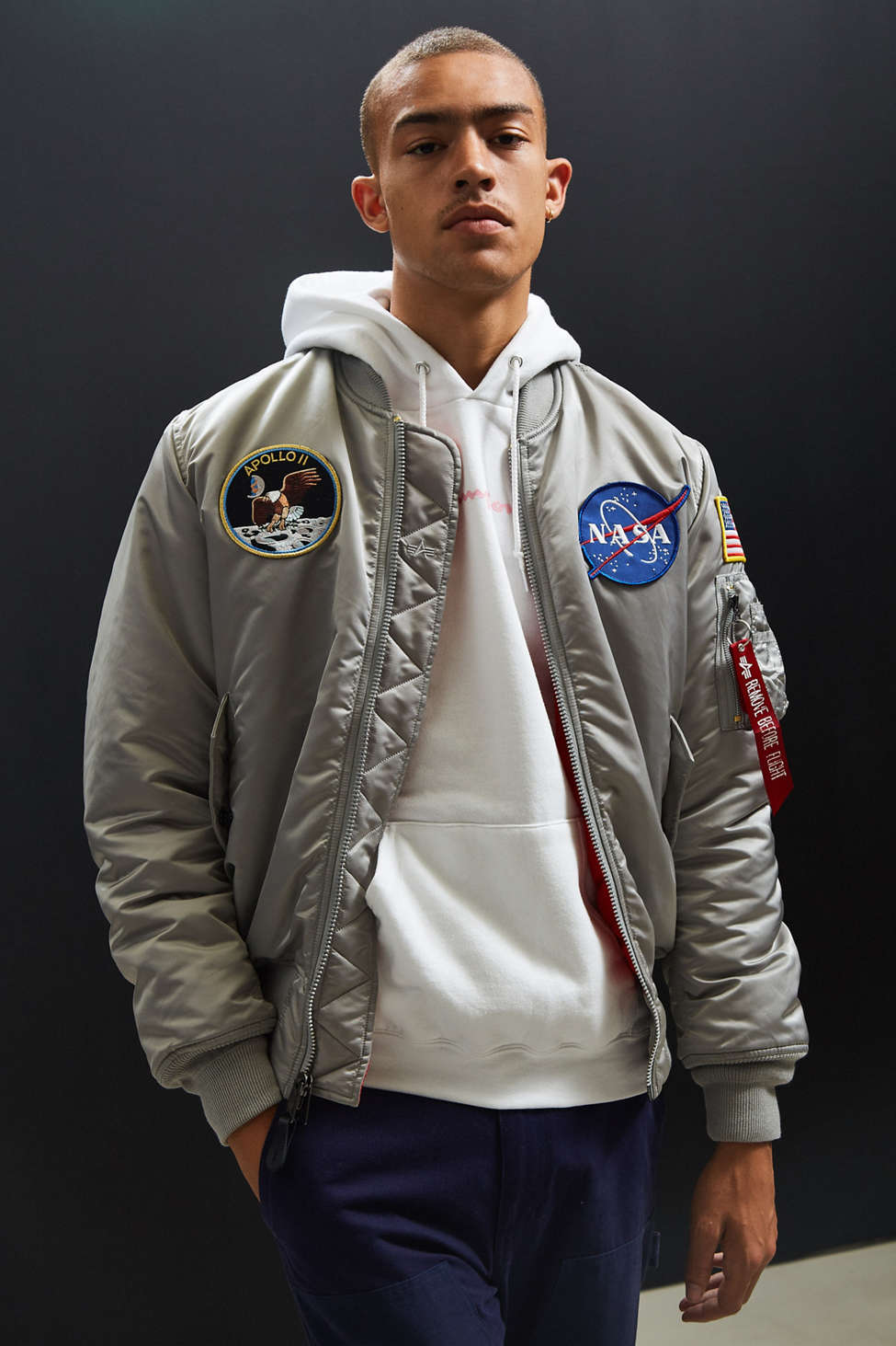 Alpha Industries Ma 1 Apollo Bomber Jacket Urban Outfitters