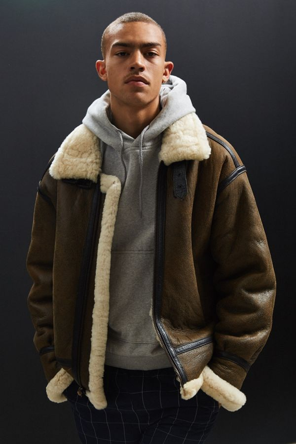 Alpha Industries B-3 Sheepskin Bomber Jacket | Urban Outfitters