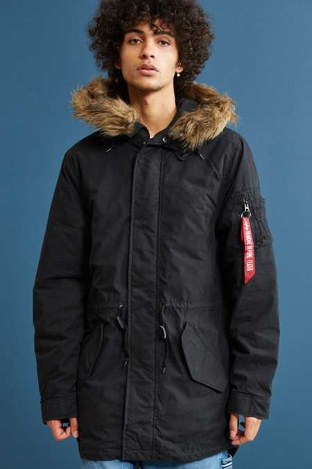 Alpha Industries J4 Fishtail Parka Jacket