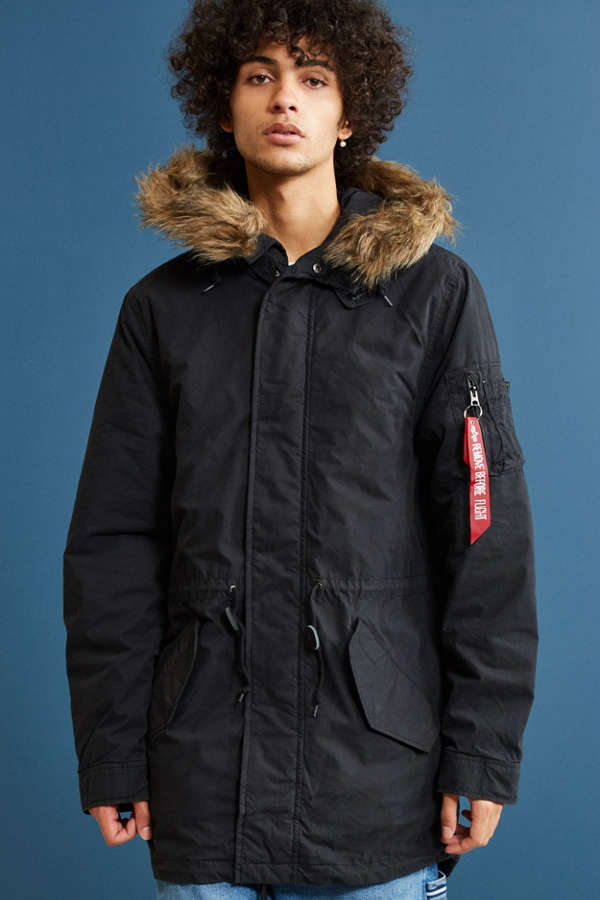 Alpha Industries J4 Fishtail Parka Jacket | Urban Outfitters Canada