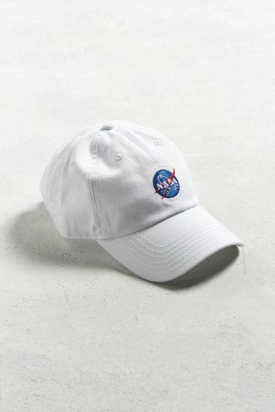 Nasa Logo Baseball Hat Urban Outfitters
