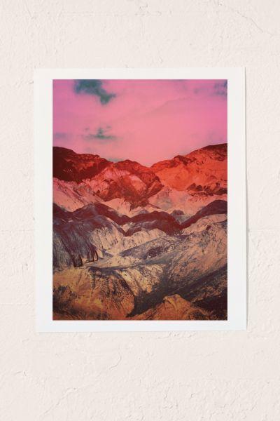 Samantha Muljat Ganymede Landing On Art Print