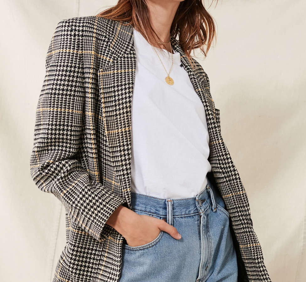 Slide View: 5: Vintage Oversized Blazer