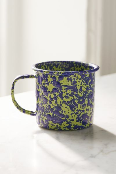 Crow Canyon Home X UO Speckled Mug - Lime One Size at Urban Outfitters
