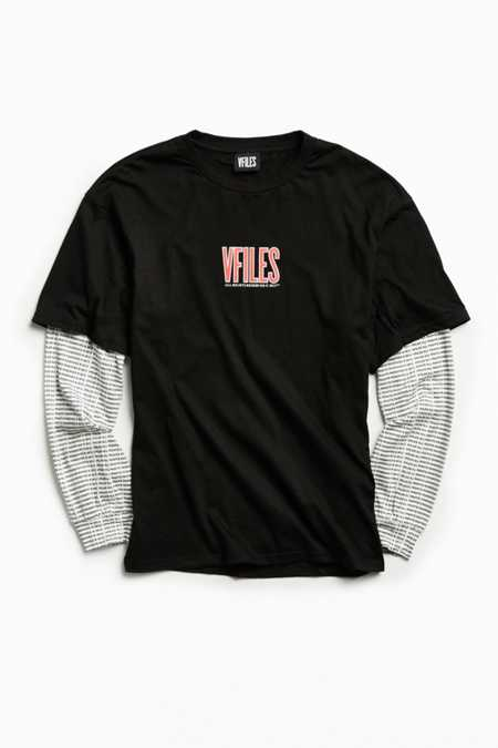 VFILES Oversized Layered Long Sleeve Tee