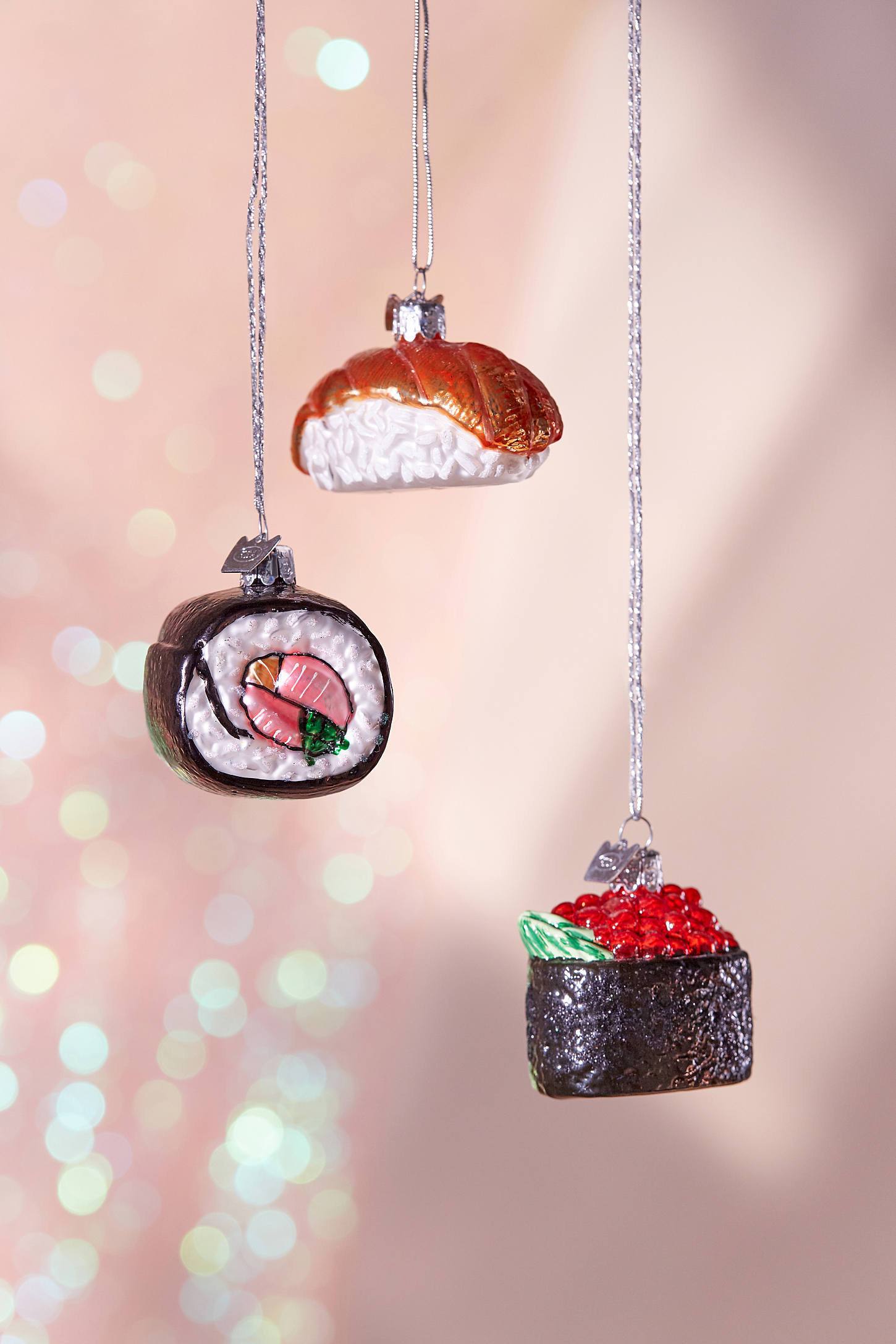 Sushi Christmas Ornament  Set Of 3  Urban Outfitters Canada