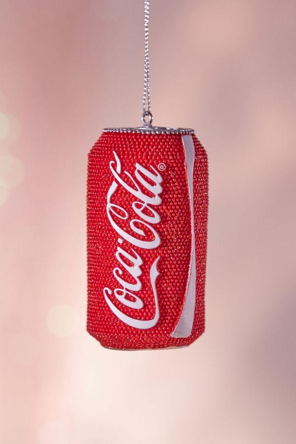 bling coca cola christmas ornament