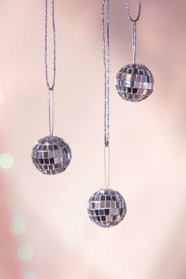 Mini Disco Ball Christmas Ornament  Set Of 12  Urban Outfitters