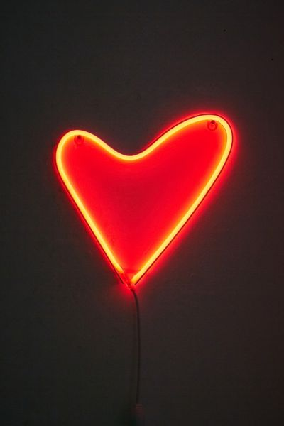 Heart LED Wall Light