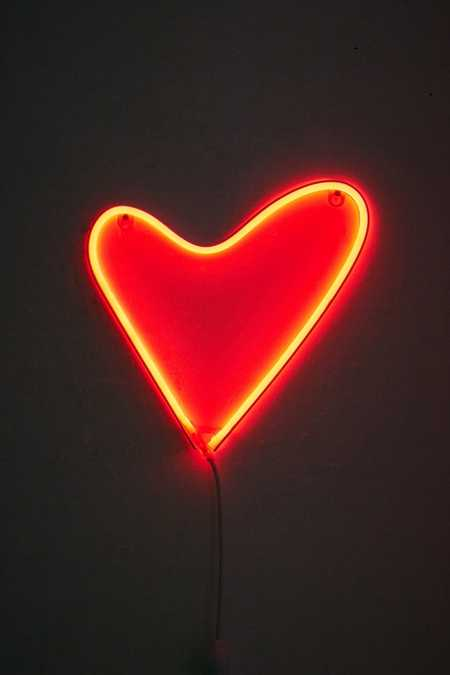 Heart LED Neon Sign