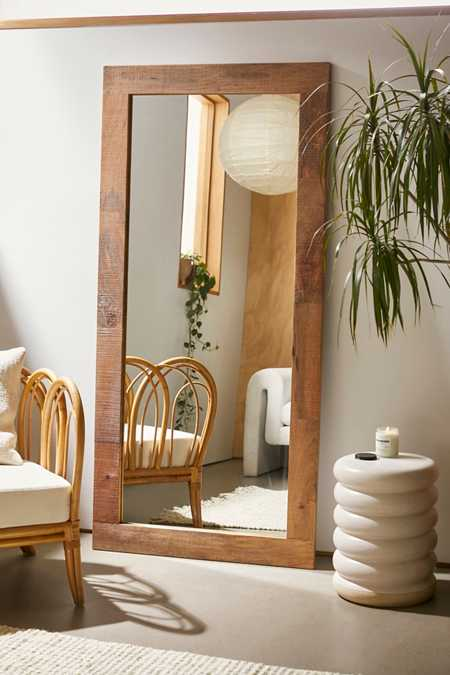 Ashton Mango Wood Mirror. Wall Mirrors   Full Length Mirrors   Urban Outfitters