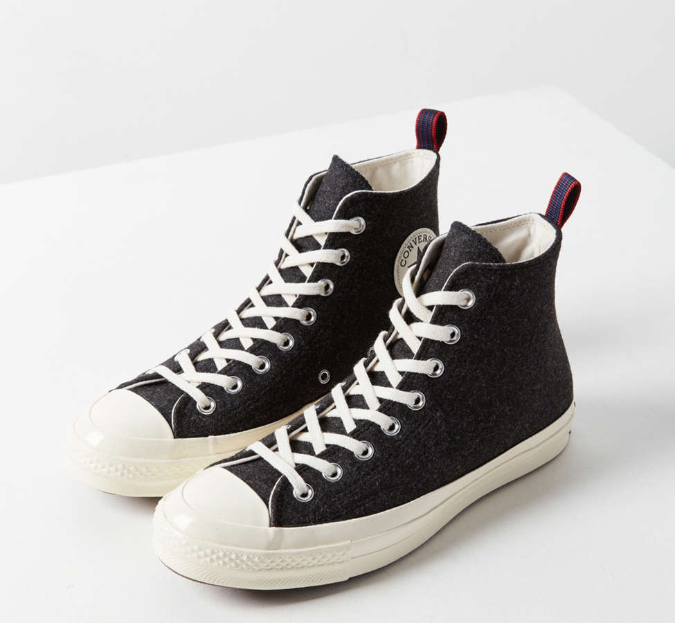 Slide View: 2: Converse Chuck 70 Felt High Top Sneaker