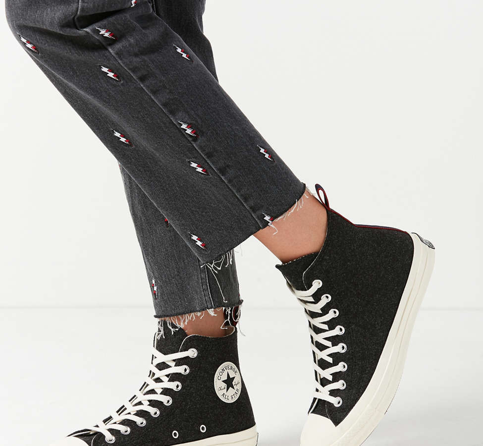 Slide View: 3: Converse Chuck 70 Felt High Top Sneaker