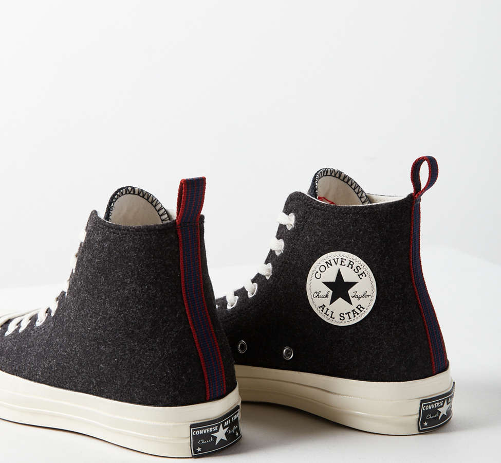 Slide View: 4: Converse Chuck 70 Felt High Top Sneaker