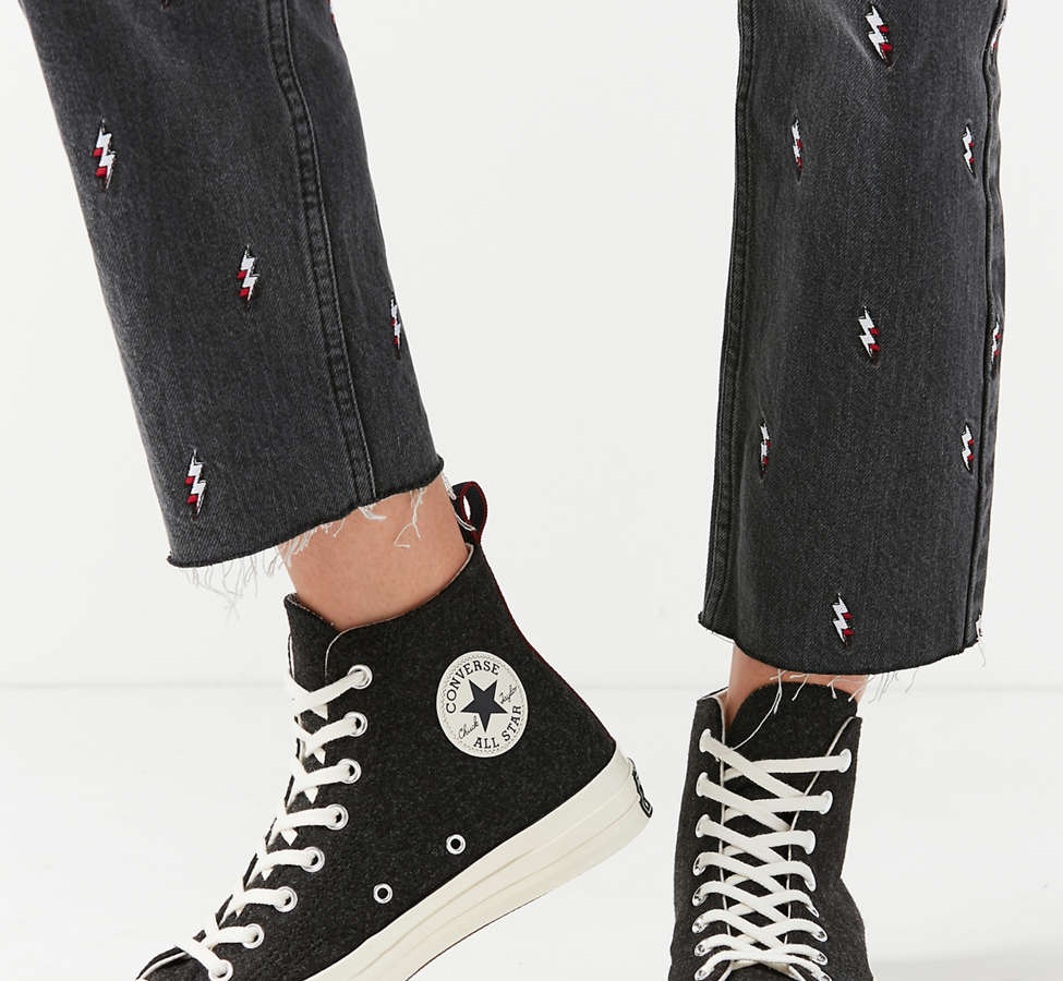 Slide View: 5: Converse Chuck 70 Felt High Top Sneaker