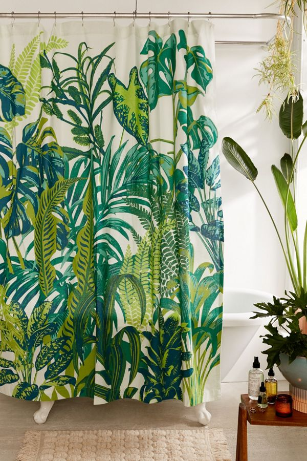 Rideau De Douche Dreamy Jungle Urban Outfitters Canada