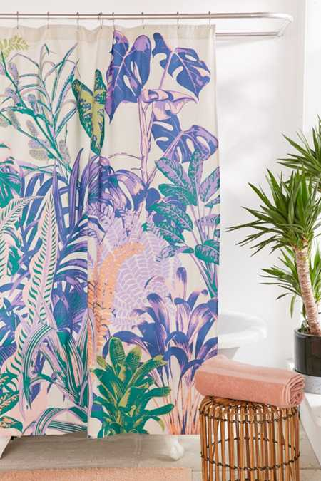 Dreamy Jungle Shower Curtain
