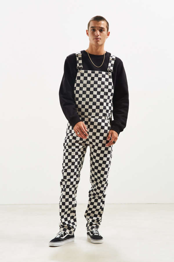 Bdg Checkered Overall Urban Outfitters Canada