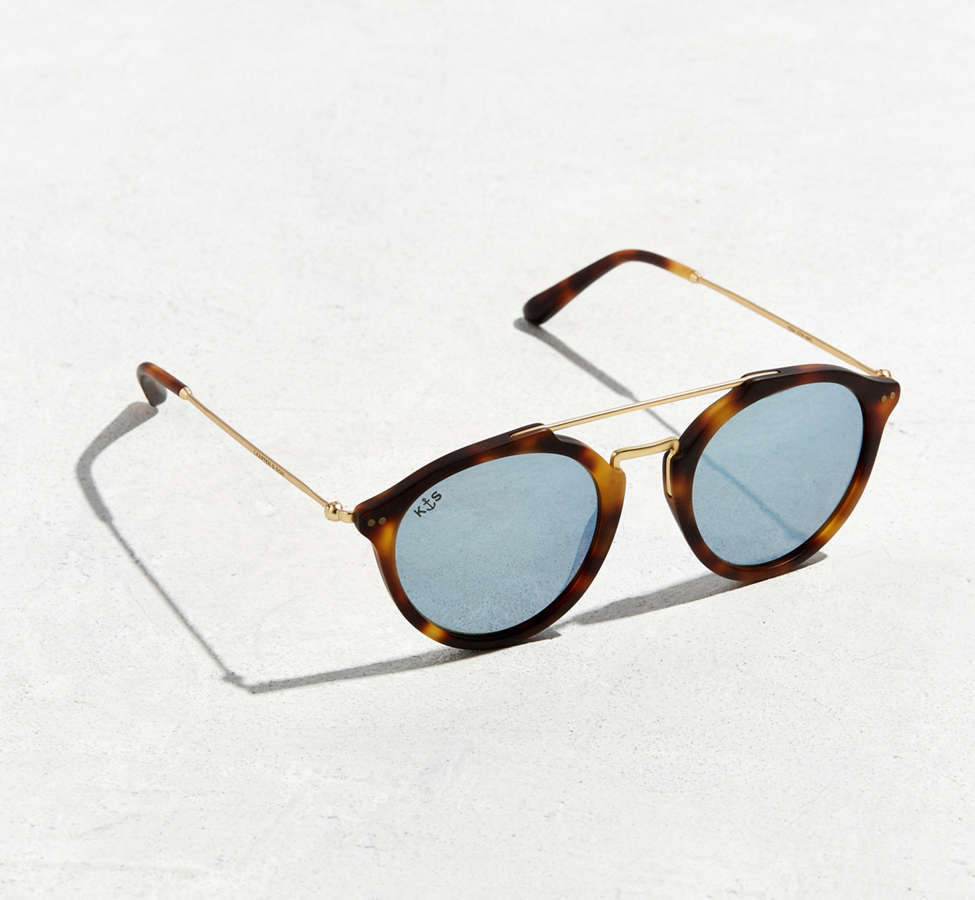 Slide View: 1: Kapten & Son Fitzroy Matt Sunglasses
