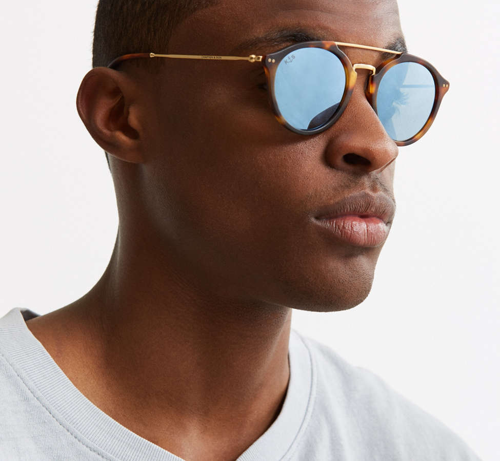 Slide View: 2: Kapten & Son Fitzroy Matt Sunglasses