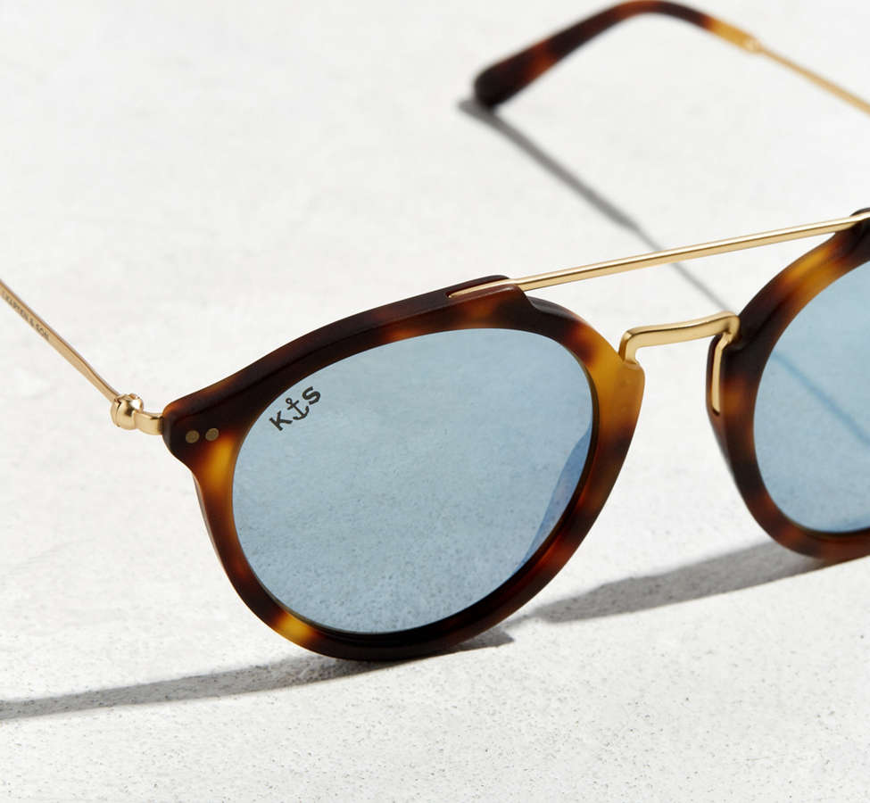 Slide View: 3: Kapten & Son Fitzroy Matt Sunglasses