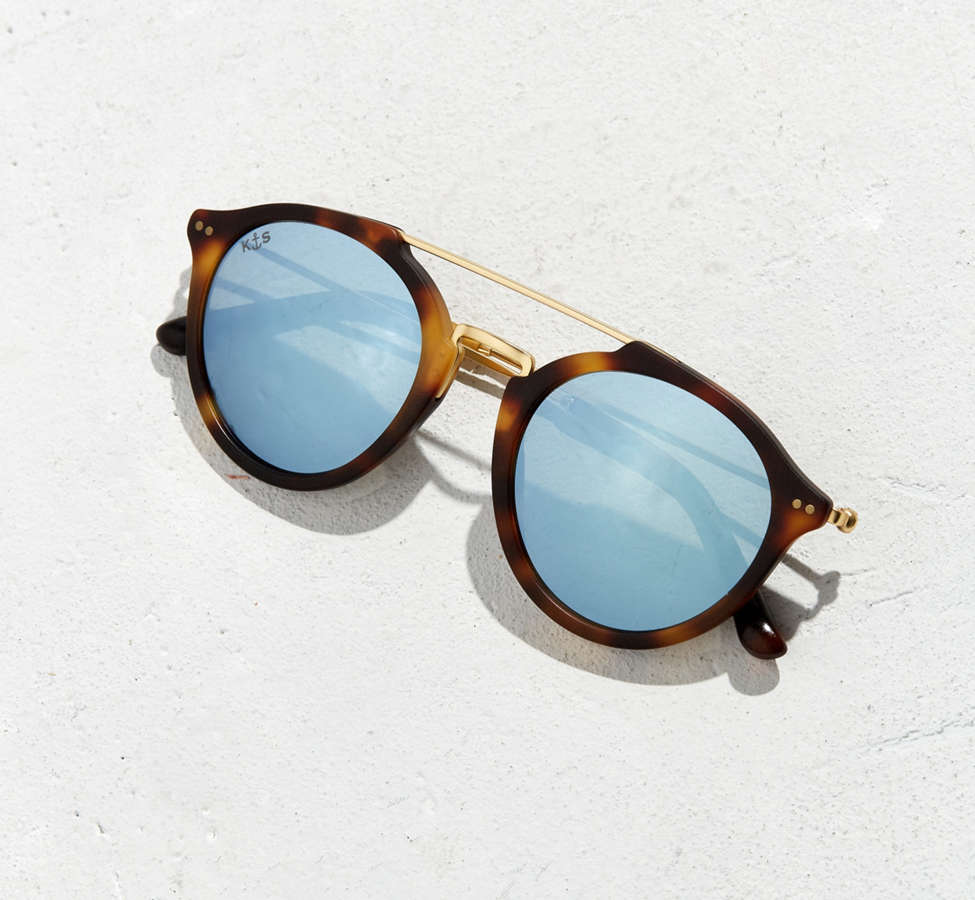 Slide View: 5: Kapten & Son Fitzroy Matt Sunglasses