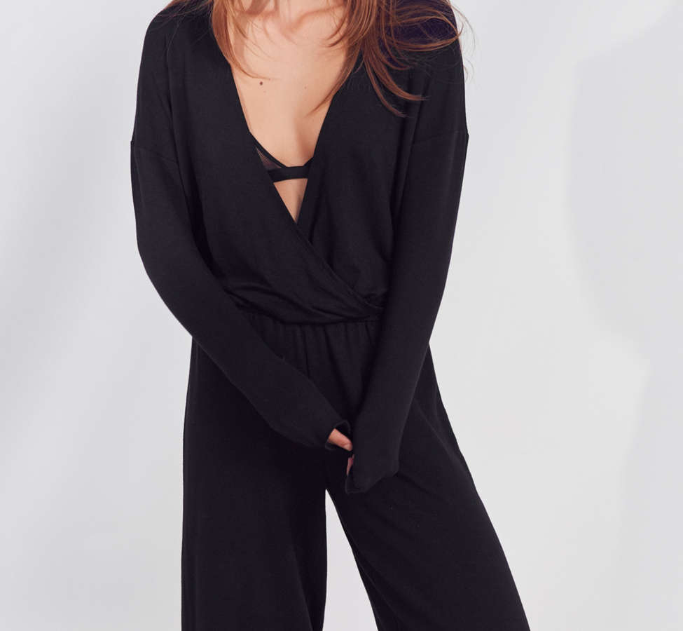 Slide View: 5: Out From Under Audrey Wrap Jumpsuit