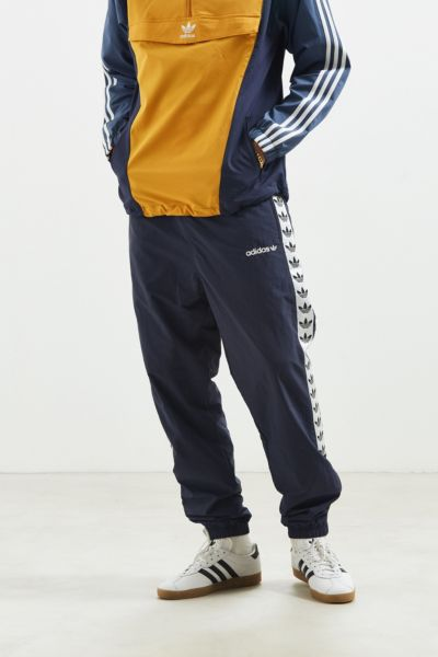 adidas TNT Taped Wind Pant - Navy L at Urban Outfitters