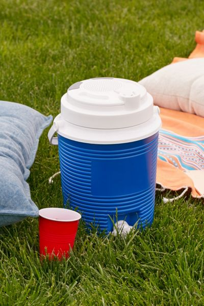 3-in-1 Wireless Speaker Cooler - Blue One Size at Urban Outfitters