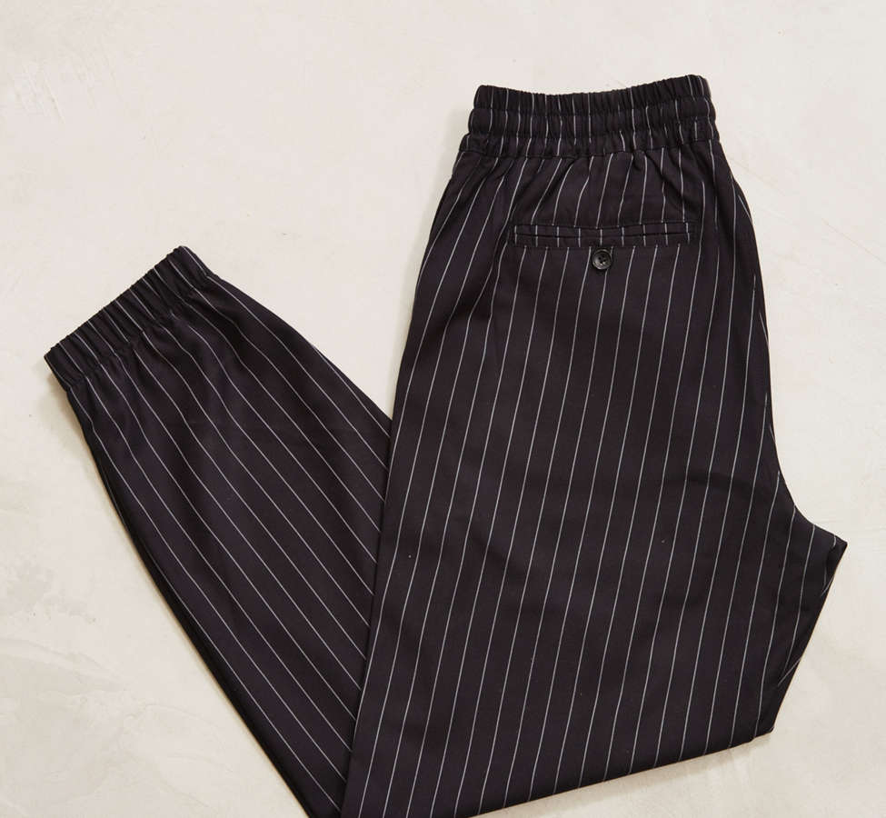 Slide View: 2: UO Asher Pinstripe Jogger Pant