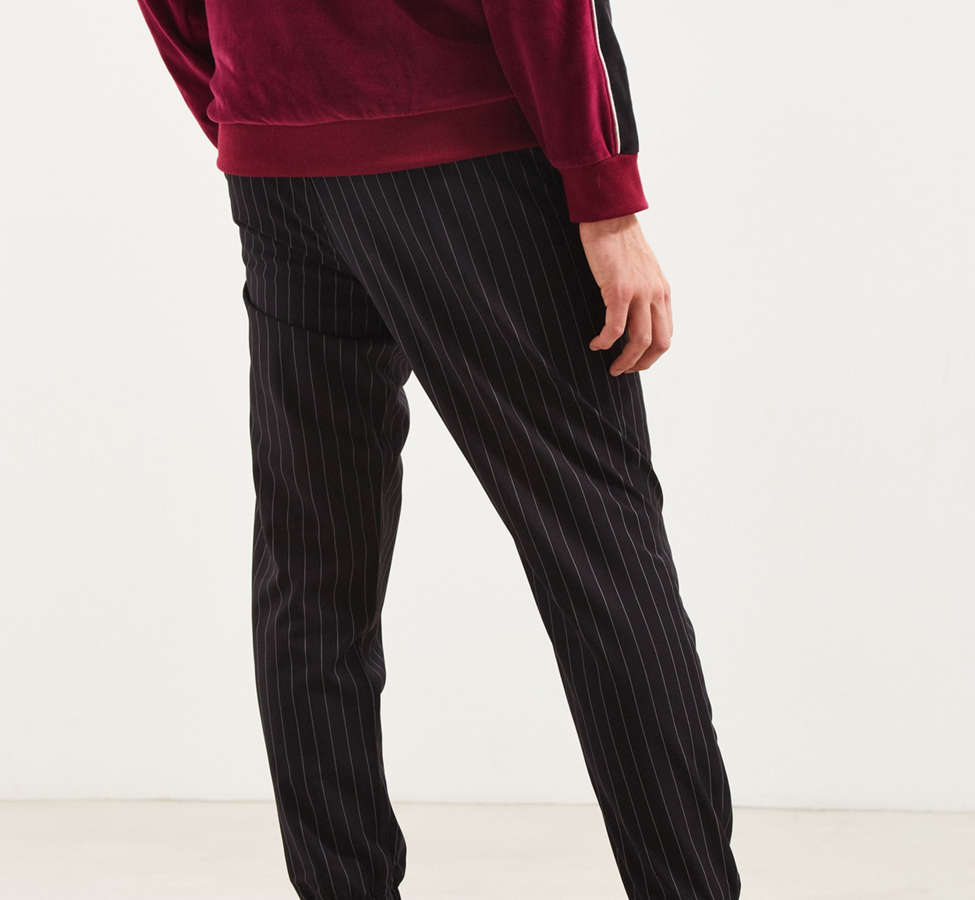 Slide View: 4: UO Asher Pinstripe Jogger Pant
