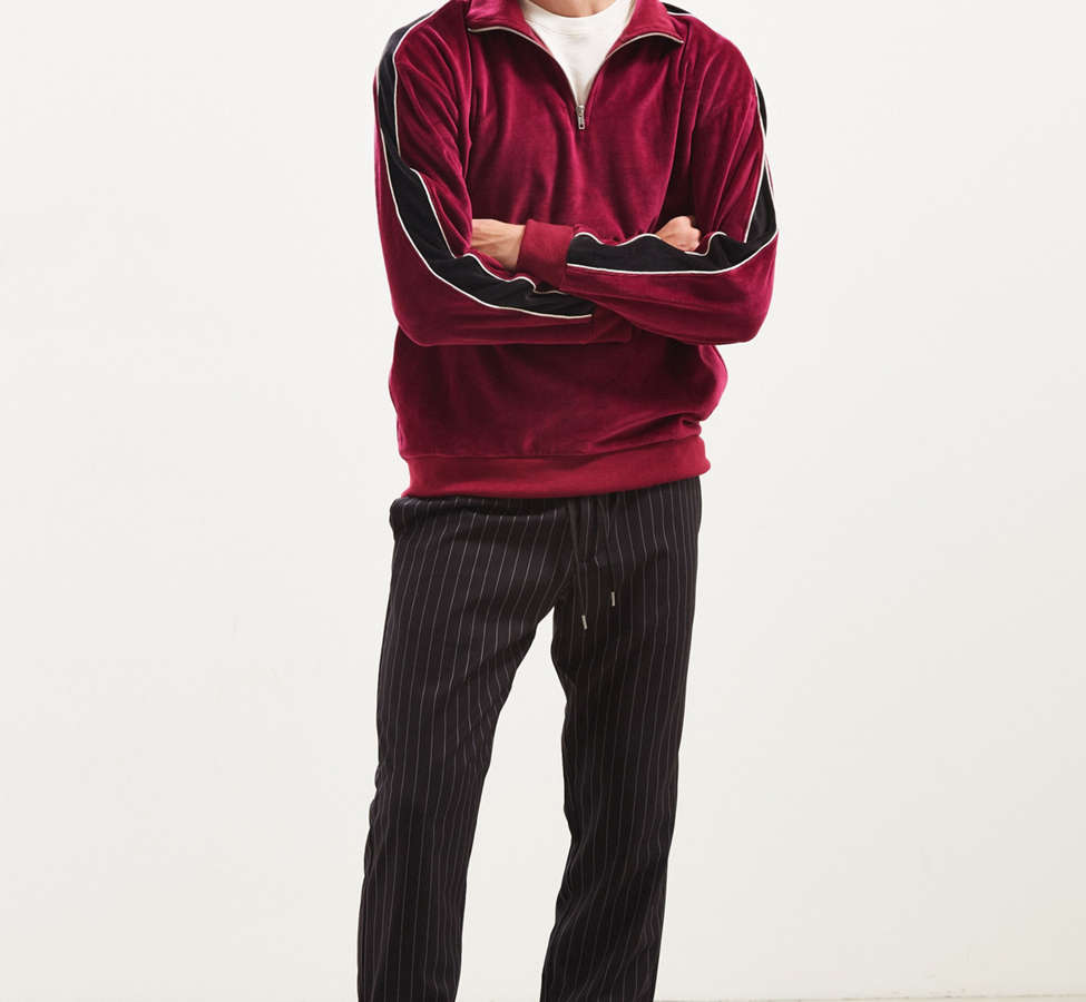 Slide View: 6: UO Asher Pinstripe Jogger Pant