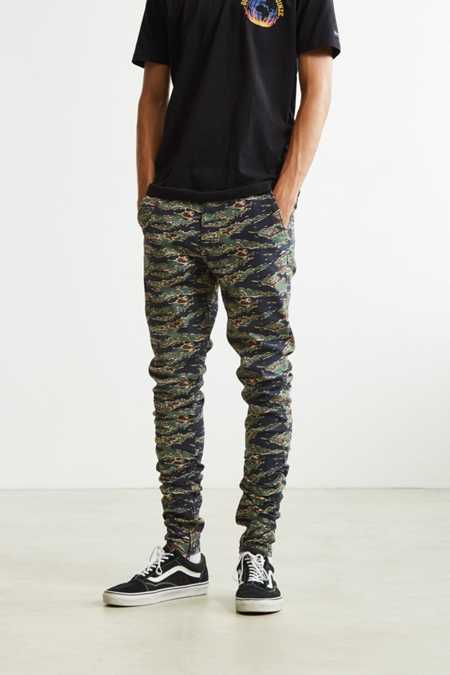 UO Tiger Camo Stacked Pant