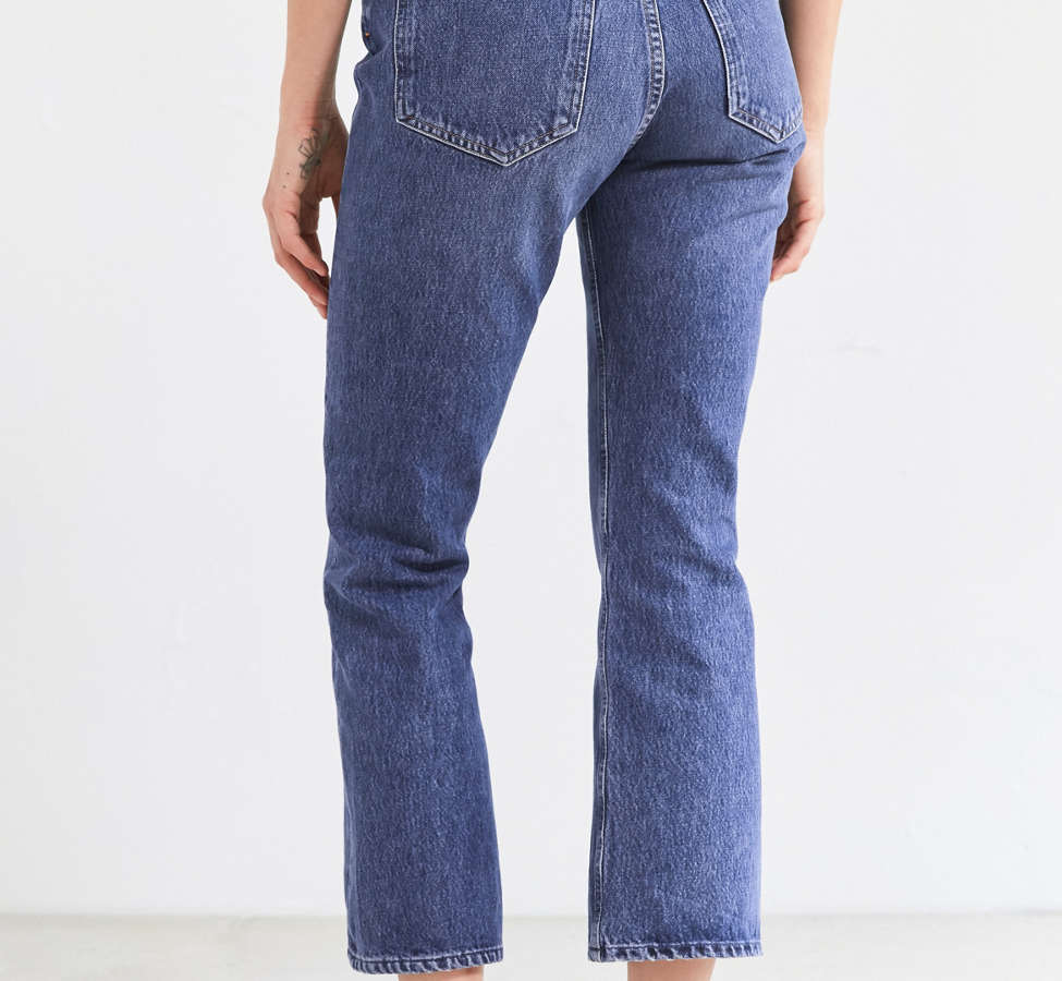 Slide View: 2: AGOLDE Taylor High-Rise Cropped Kick Flare Jean