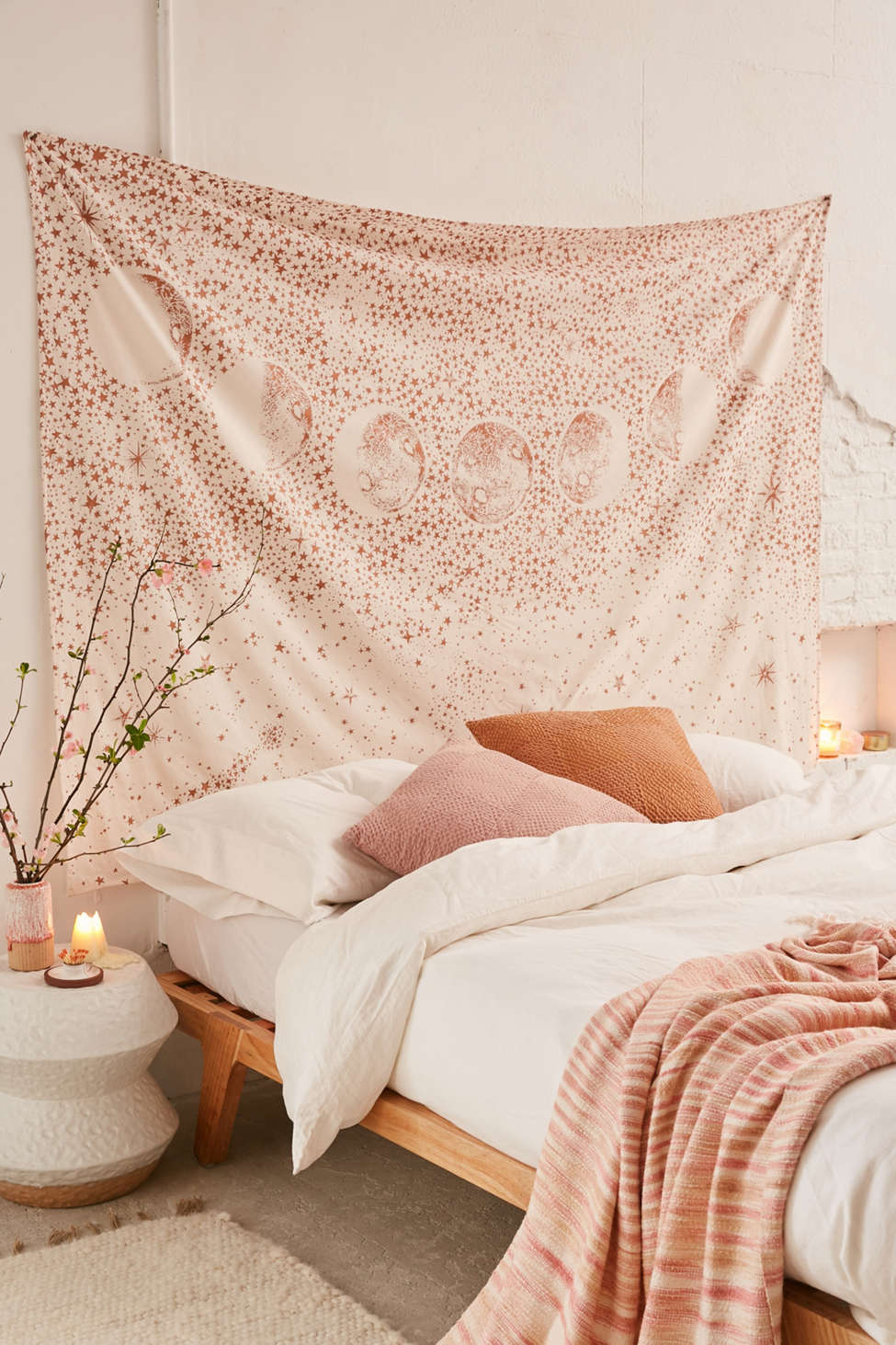 tapisserie murale, tapestry, urban outfitters, chambre boho