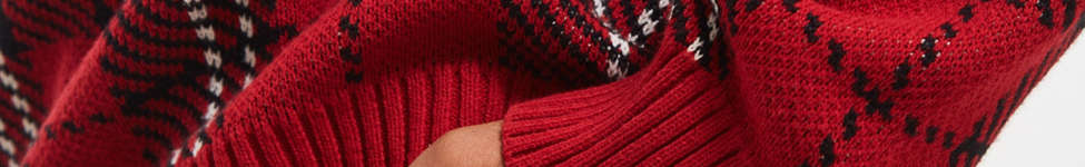 Thumbnail View 5: UO Tartan Crew Neck Sweater