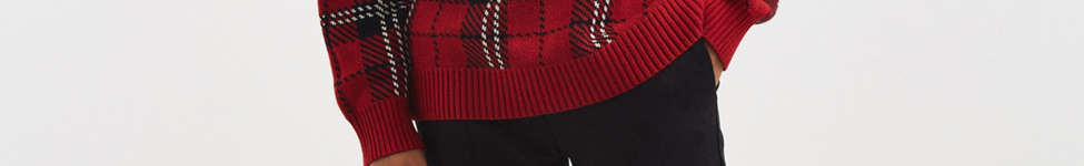 Thumbnail View 6: UO Tartan Crew Neck Sweater