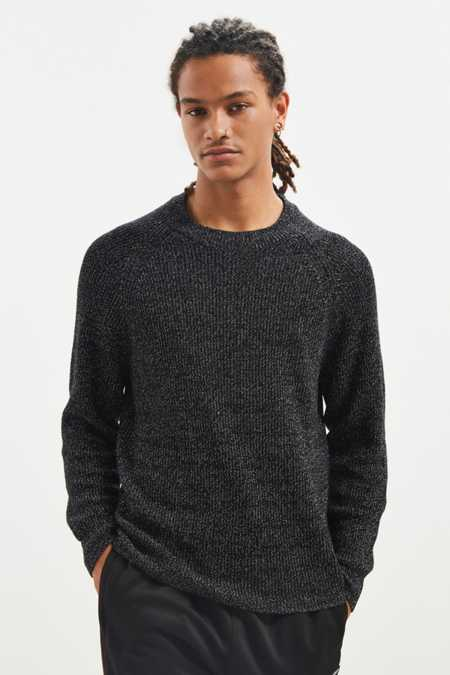 UO Metallic Crew Neck Sweater
