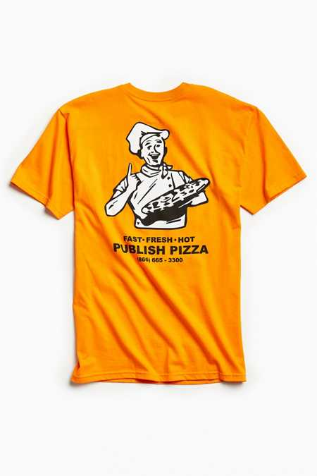 Publish Pizza Shop Tee