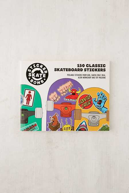 Stickerbomb Skateboard: 150 Classic Skateboard Stickers By Studio Rarekwai