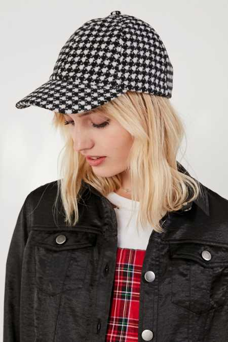 Brushed Wool Menswear Baseball Hat