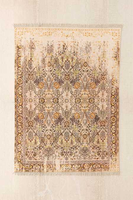 Isolde Distressed Print Chenille Rug
